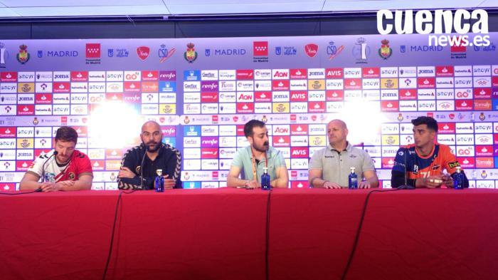 Copa del Rey | Sala de prensa >>> Liberbank Cuenca - BM. Benidorm