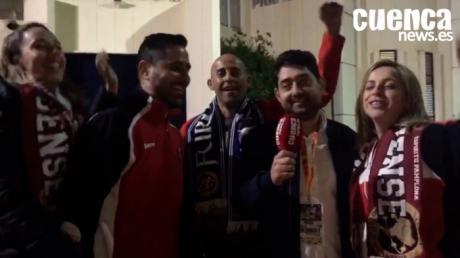 La afición del Liberbank Cuenca valora el pase a la final del equipo
