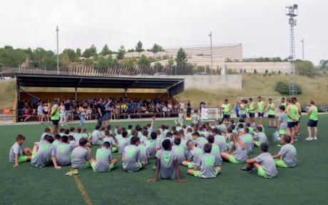 La Fundación Globalcaja, con el Campus Internacional de Fútbol Baby Cuenca