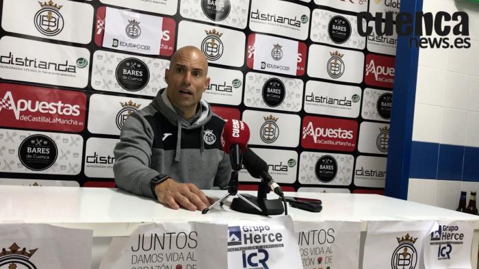 Sala de Prensa | Cesar Lainez- [U.B. Conquense 0– 0 U.D. Cornellá]
