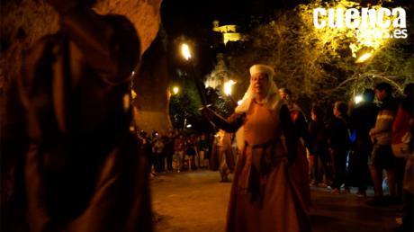 Video- La Cuenca Histórica   Cierre de las Puertas de la Villa de Conca y Desfile de Antorchas