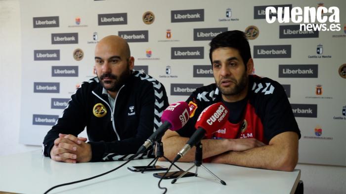Sala de Prensa EHF CUP| Lidio Jiménez y David Mendoza - [Liberbank Cuenca 26- 28 HC Dobrogea Sud]
