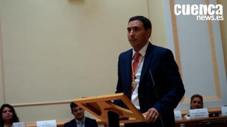 Primeras palabras de Álvaro Martínez Chana tras ser nombrado Presidente de la Diputación de Cuenca