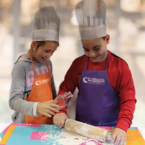 El Mirador acoge los talleres de cocina infantil en inglés de Acuaprende
