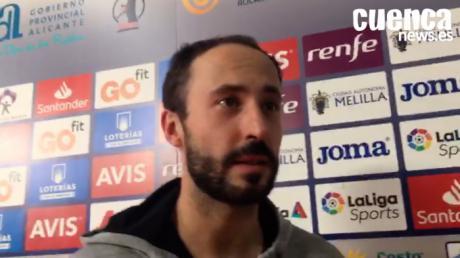 Leonel Maciel, jugador del Liberbank Cuenca valora el pase a la final del equipo