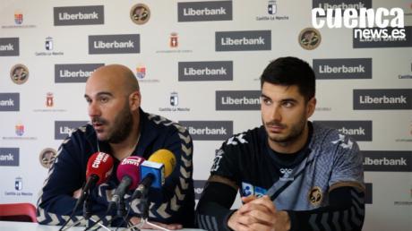 Sala de Prensa EHF CUP 2020| Lidio Jiménez y Kristian Eskerecic- [Liberbank Cuenca 28- 33 Rhein-Neckar-Lowen]