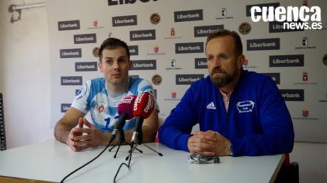 Sala de Prensa EHF CUP| Zvonko Šundovski y Dalibor Čutura - [Liberbank Cuenca 26- 28 HC Dobrogea Sud]