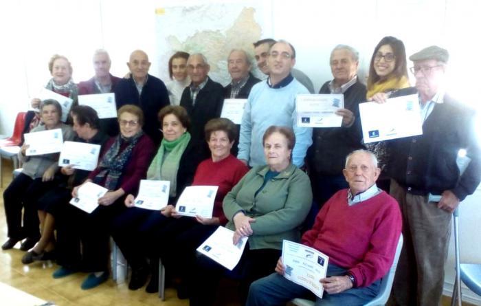 Clausurado el taller de alfabetización digital en Montalbo