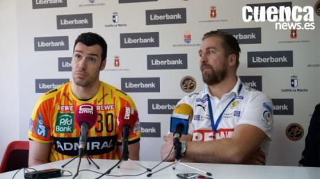 Sala de Prensa EHF CUP 2020| Oliver Roggisch y Gedeón Guardiola- [Liberbank Cuenca 28- 33 Rhein-Neckar-Lowen]