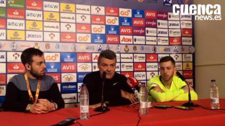 Xavi Pascual, entrenador del Barça Lassa, valora la final contra el Liberbank Cuenca
