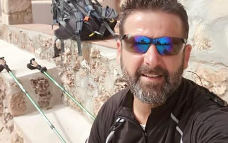 De Villamayor de Santiago a Granada caminando en homenaje a las víctimas de Covid-19