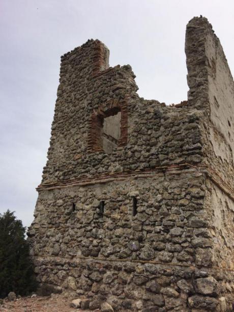 En imagen la Torre de la Mendoza