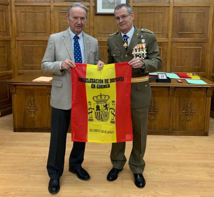 Reconocimiento a Globalcaja de la Subdelegación de Defensa de Cuenca