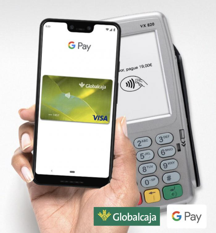 Globalcaja lanza Google Pay