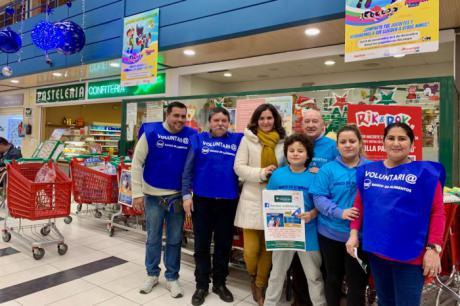 Nuevo apoyo de la Fundación Globalcaja con la gran recogida del Banco de Alimentos