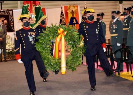 La Guardia Civil celebra la festividad de su patrona, Nuestra Señora de la Virgen del Pilar