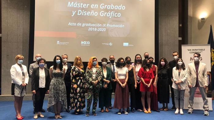 Graduados los dieciséis alumnos de la IX edición del Máster en Grabado y Diseño Gráfico de la UCLM