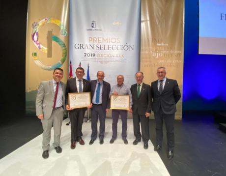 Globalcaja muestra su apoyo al sector agroalimentario de la región, en los premios Gran Selección 2019