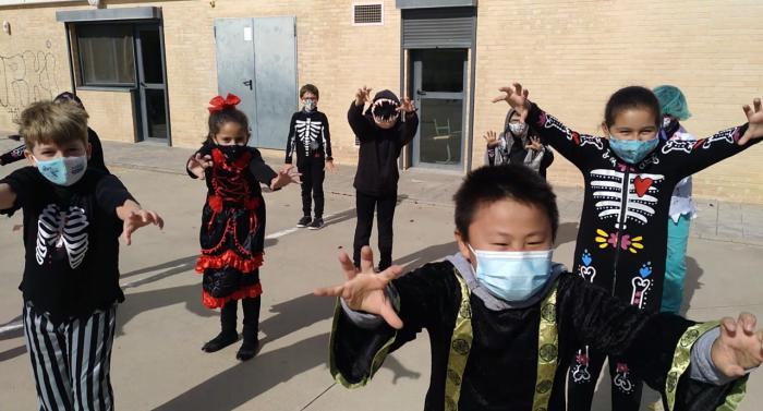 El Colegio Ciudad Encantada disfruta de una jornada lúdica de Halloween