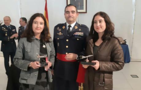 Las hermanas Lara, premiadas por el Ejército del Aire