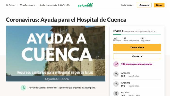 Una iniciativa vecinal lleva ya casi 4.000 euros en 5 horas de crowfounding para el Virgen de la Luz