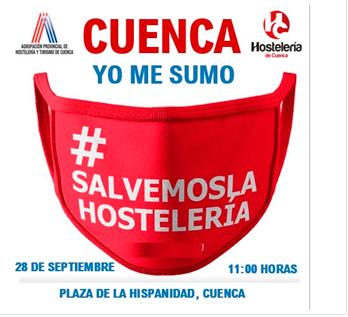La hostelería de Cuenca se concentra este lunes para pedir ayudas