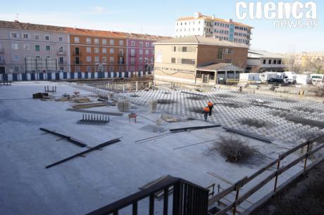 El Ayuntamiento prevé la finalización de las obras del parking de Astrana Marín para el mes de junio