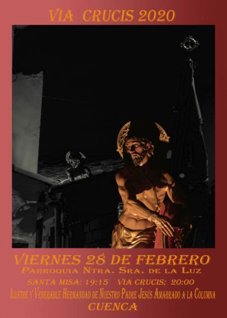Presentado el cartel del Vía Crucis 2020 de El Amarrado