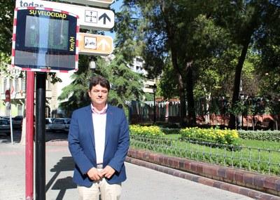 Albacete estrena 9 radares informativos que servirán para pacificar el tráfico en el centro
