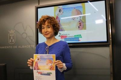 Mª Ángeles Martínez presenta el II Certamen de Cuentos Ilustrados Infantiles por la Igualdad y la prevención de la Violencia de Género