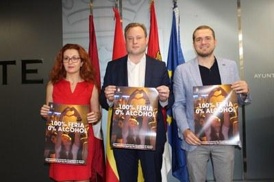 El Ayuntamiento de Albacete lanza una campaña de sensibilización para prevenir el consumo de alcohol en Feria, sobre todo en menores