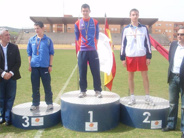 """La pista de atletismo """"Luis Ocaña"""" acogió este fin de semana la primera jornada del Campeonato Provincial de atletismo"""