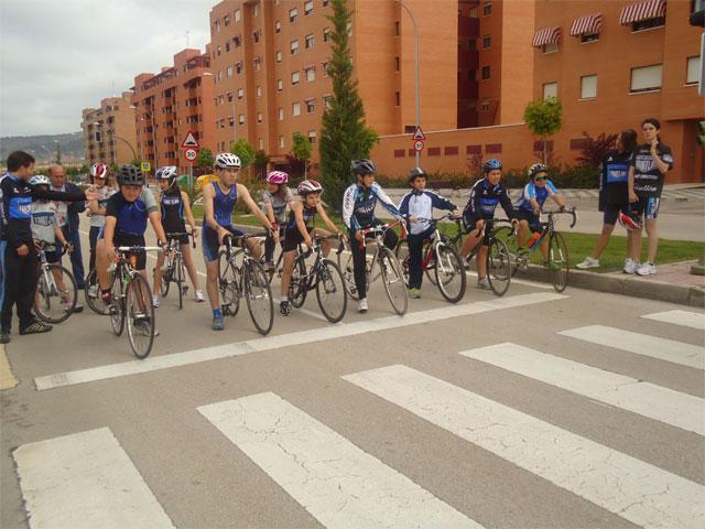 Campeonato provincial de ciclismo de deporte base en Cuenca