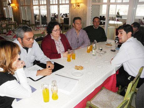 Ávila se reúne con la Asociación de Amigos del Camino de Santiago