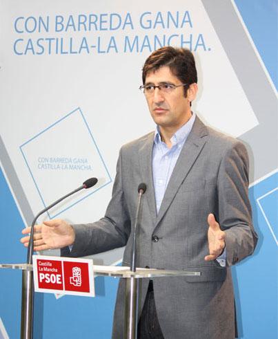 El PSOE ofrece a la Federación de Asociaciones de Periodistas de C-LM la organización del debate entre el presidente Barreda y De Cospedal