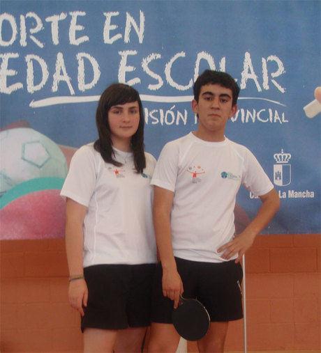 Montserrat Laserna al campeonato de España de tenis de mesa