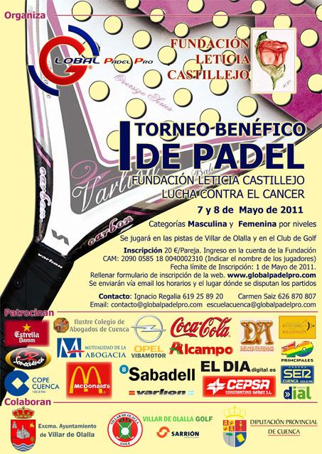 Villar de Olalla acoge el  Torneo benéfico de Pádel a favor de la Fundación  Leticia Castillejo
