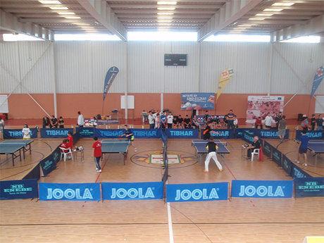 Sisante acogió este fin de semana la final regional escolar de tenis de mesa