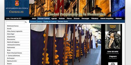 La página web del Ayuntamiento informa en tiempo real de la situación de las procesiones