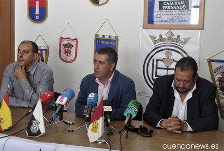 Zurro se despide como entrenador del Conquense cargando contra los medios de comunicación de Cuenca