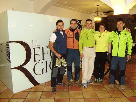 Una cena con Nuria Dominguez sirve de preámbulo a la X Carrera de Montaña de Cuenca
