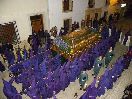 Mota se entregó en la procesión del Viernes Santo