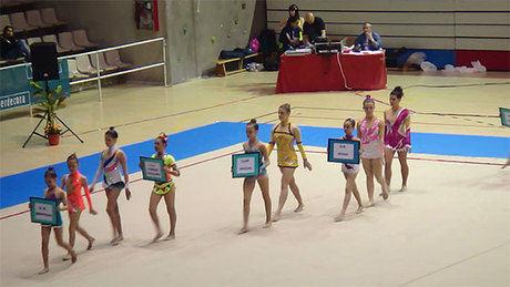 Éxito de participación en el XIV trofeo ciudad de Cuenca de gimnasia rítmica organizado por el CD Huécar