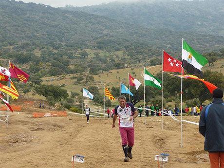 El club orientación y montaña Cuenca  participo en el campeonato de España de orientación