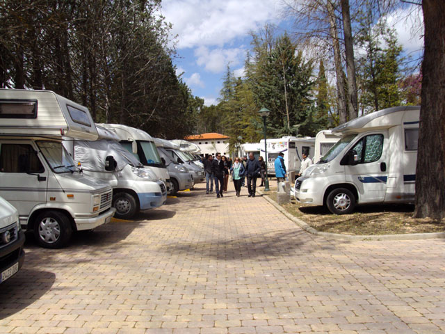 Buendía inaugura su área de servicio para autocaravanas 'La Veguilla'