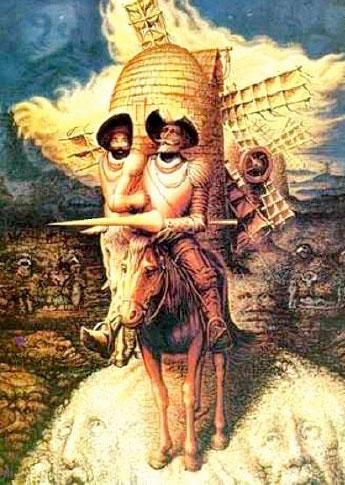 Los huesos de Cervantes o el Quijote como espejo