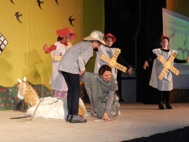 El Colegio Santa Ana clausura de forma espectacular su Proyecto Cervantes 4.00
