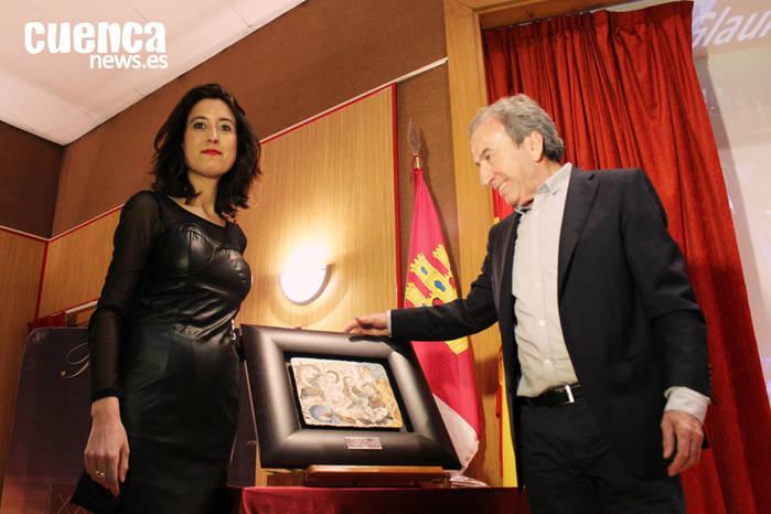 """José Luis Perales recibe el XXV premio """"Glauka"""" entregado por la Asociación de Amigas de la Lectura de Cuenca"""