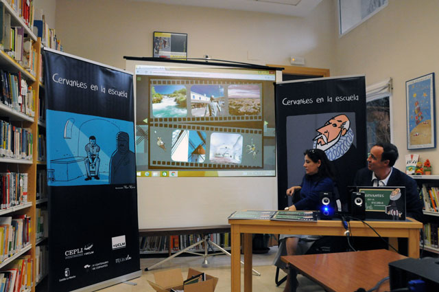 El CEPLI presenta el interactivo didáctico 'Cervantes en la escuela'