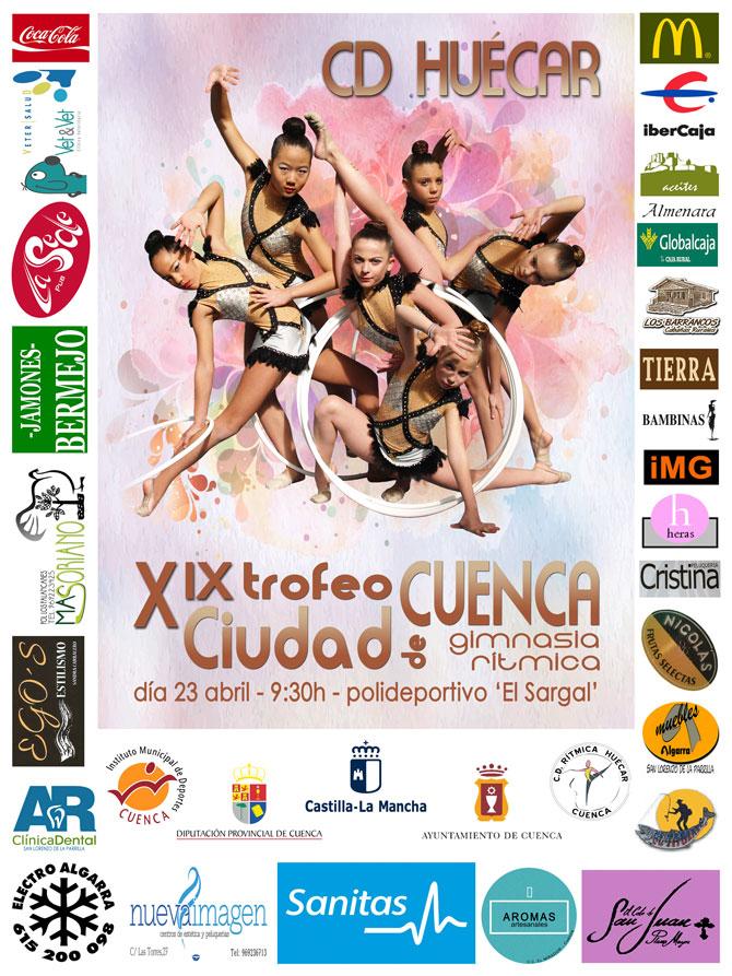 Todo preparado para la XIXª edición del Trofeo Ciudad de Cuenca de Gimnasia Rítmica